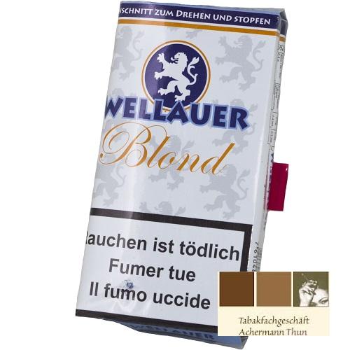 wellauer blond shag dreh und stopf zigaretten tabak bei online kaufen. Black Bedroom Furniture Sets. Home Design Ideas