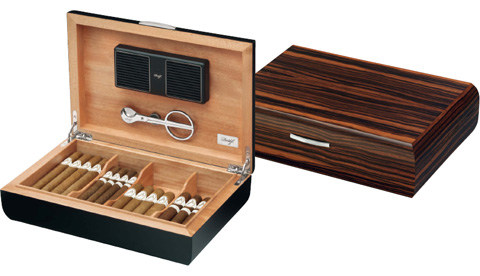davidoff humidor office wood line bei. Black Bedroom Furniture Sets. Home Design Ideas